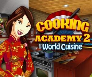 Nieuw Kook spel: Cooking Academy 2: World Cuisine